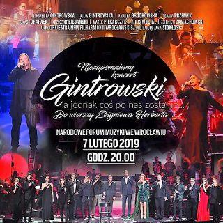 Gintrowski, a jednak coś po nas zostanie – koncert w NFM