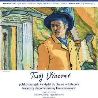 """Wystawa obrazów-kadrów z filmu """"Twój Vincent"""""""