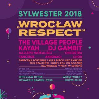 Sylwester 2018 na wrocławskim Rynku: Village People