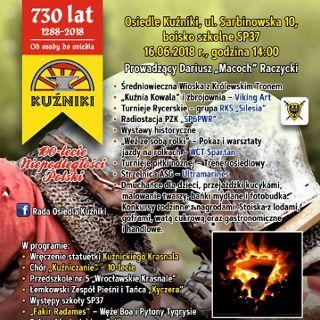 730 lecie Osiedla Kuźniki we Wrocławiu