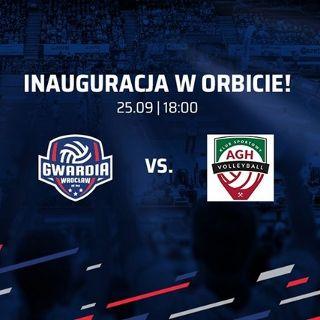 KRISPOL 1. liga mężczyzn: KFC Gwardia Wrocław vs. AZS AGH Kraków