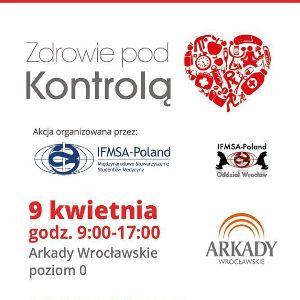 Zdrowie pod kontrolą – bezpłatne badania w Arkadach Wrocławskich