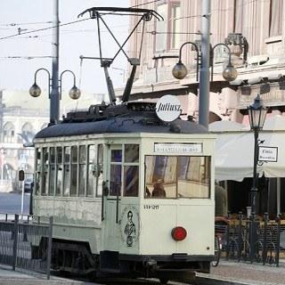 Antique trams