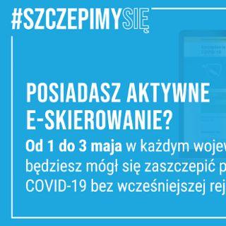 Zaszczep się w majówkę we Wrocławiu bez rejestracji