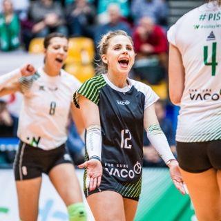 Liga Siatkówki Kobiet: ŁKS Commercecon Łódź vs. #VolleyWrocław
