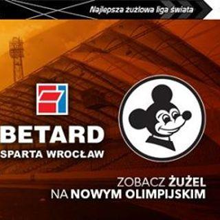 PGE Ekstraliga: Betard Sparta Wrocław vs. Falubaz Zielona Góra