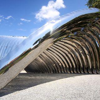 Nawa – plenerowa rzeźba na Wyspie Daliowej