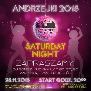 Andrzejki 2015 – Saturday Night