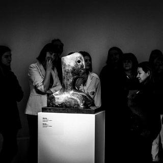 "Teatr Czterech na finisażu wystawy ""Moc natury. Henry Moore w Polsce"""