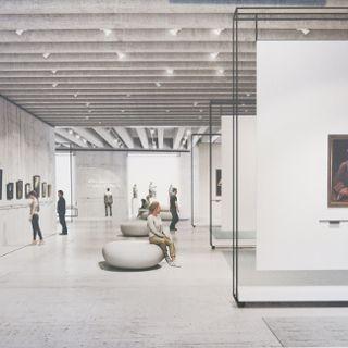Wystawa pokonkursowa na aranżację wystawienniczą Muzeum Książąt Lubomirskich