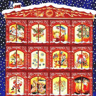 Wystawa znaczków: Wokół Bożego Narodzenia