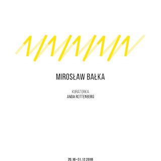 Wystawa Mirosława Bałki na inaugurację domu kultury OP ENHEIM