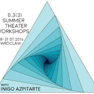 Letnie warsztaty teatralne z Iñigo Azpitarte