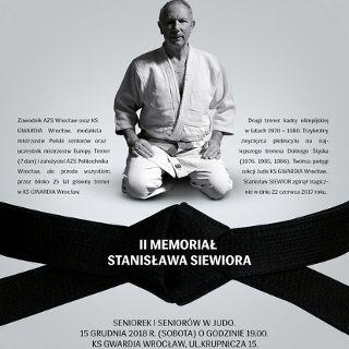 II Memoriał im. Stanisława Siewiora - święto judo we Wrocławiu
