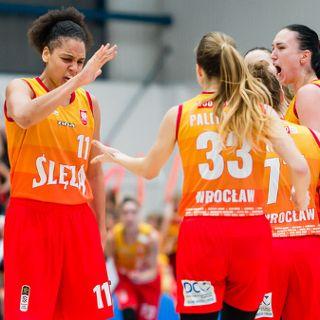 Koszykówka żeńska: Ślęza Wrocław vs. Energa Toruń