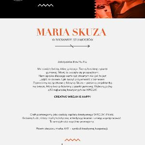 Maria Skuza w Browarze Stu Mostów
