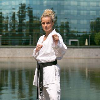 Trening TWG 2017 - karate i bule w parku Południowym