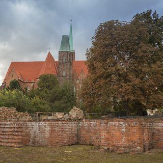 Zamek Piastów Śląskich na Ostrowie Tumskim