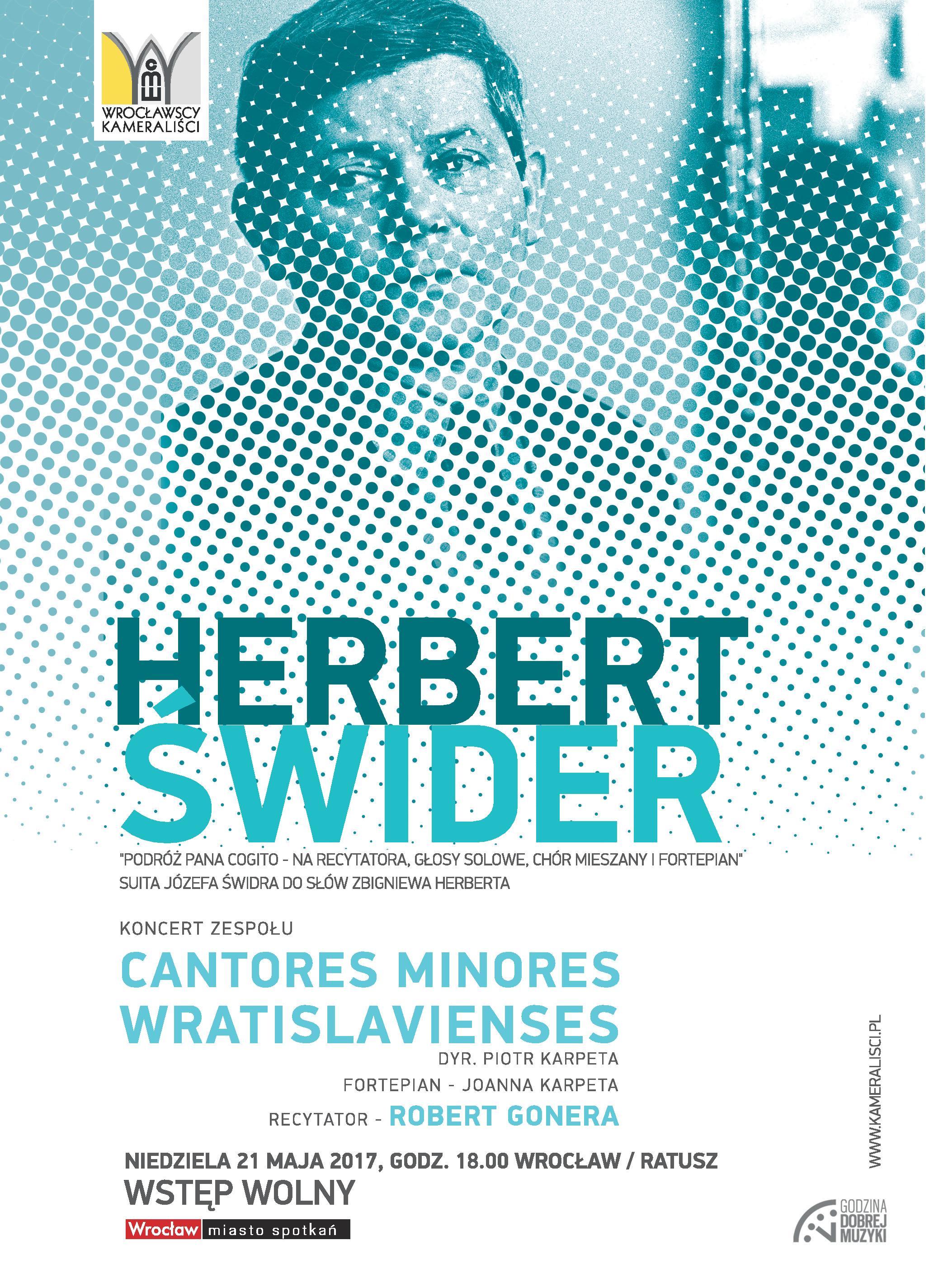 Koncert Herbertświder Podróż Pana Cogito Visitwroclaweu