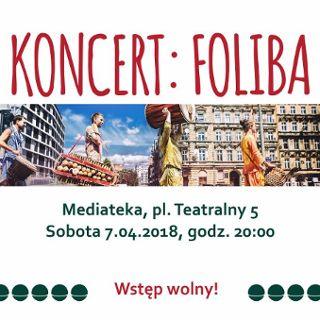 Foliba – koncert