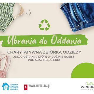 Charytatywna zbiórka odzieży - pomóż podopiecznym hospicjum