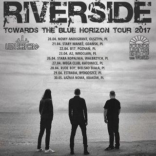 Riverside –  koncert – Towards The Blue Horizon Tour