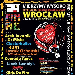 24. Finał WOŚP we Wrocławiu
