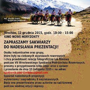 VII Wrocławskie Spotkanie Podróżników Rowerowych