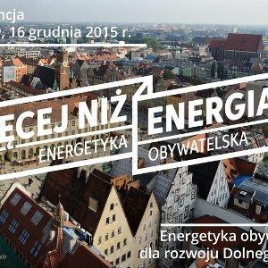 """""""Więcej niż energia"""" – seminarium w EkoCentrum"""