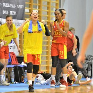 Koszykówka kobiet: Ślęza Wrocław – CCC Polkowice