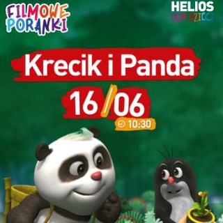 Filmowe Poranki: Krecik i Panda, cz. 1