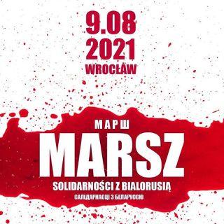 Marsz Solidarności z Białorusią