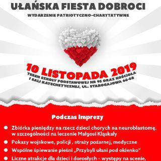Akcja charytatywna: Ułańskiej fiesty dobroci