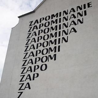 Mural Zapominanie Stanisława Dróżdża