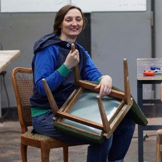 Warsztaty: Tapicerowanie mebli od podstaw z Katarzyną Stasiak