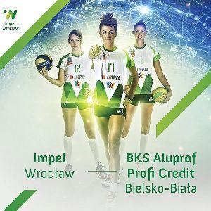 Siatkówka kobiet: Impel Wrocław kontra BKS Aluprof Profi Credit Bielsko – Biała