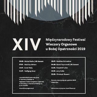 XIV Międzynarodowy Festiwal Organowy u Bożej Opatrzności