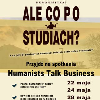 Humanists Talk Business