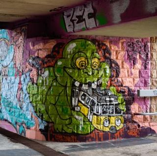 Murale na placu Społecznym