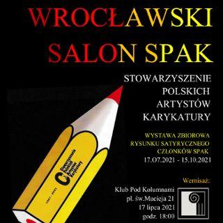 Wrocławski salon SPAK – wystawa rysunków satyrycznych