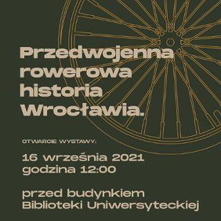 Wystawa plenerowa: Rowerowy od zawsze