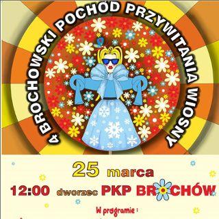 IV Brochowski Pochód Przywitania Wiosny