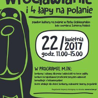 Wrocławianie i 4 łapy na polanie 2017