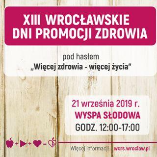 Wrocławskie Dni Promocji Zdrowia 2019