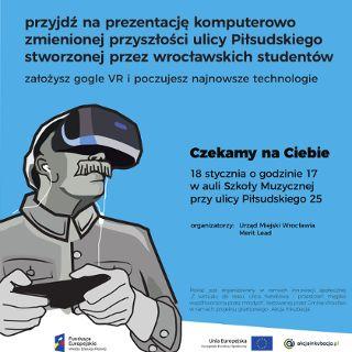 Sprawdź ulicę Marszałka w wirtualu