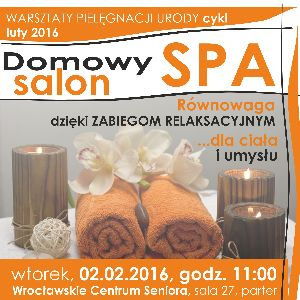 Domowy salon SPA