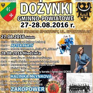 Dożynki gminno-powiatowe w Kobierzycach