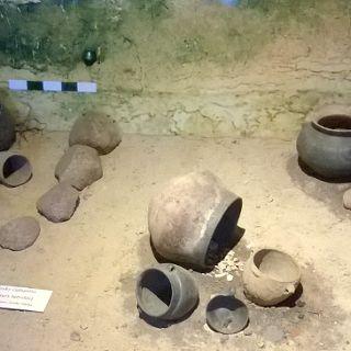 Oprowadzanie po wystawie w Muzeum Archeologicznym