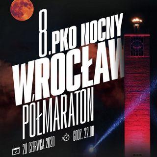 8. PKO Nocny Wrocław Półmaraton