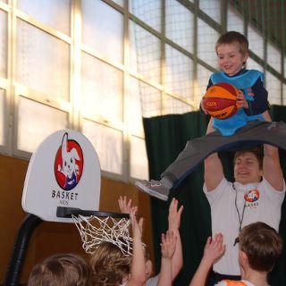Basket Kids: bezpłatne pokazowe zajęcia dla dzieci